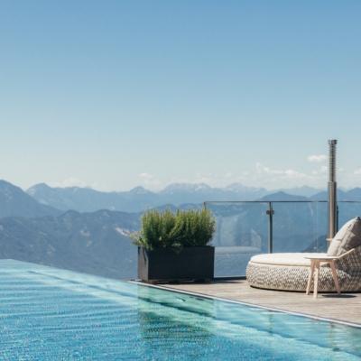 Infinity-Pool - Hotel Pacheiner