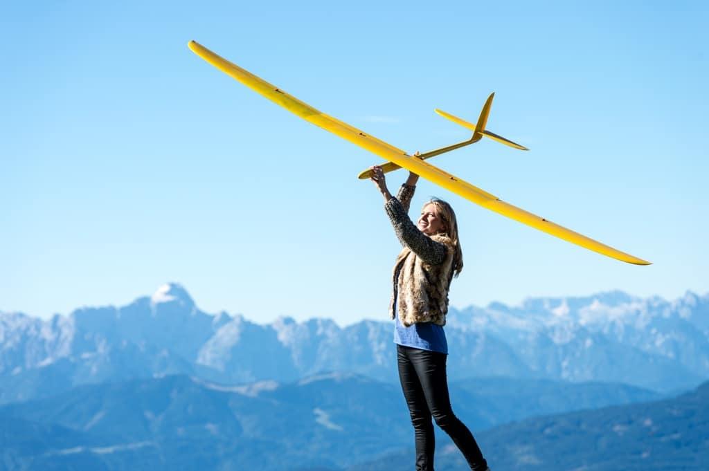 Modellfliegen beim Pacheiner
